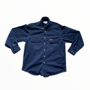 Vintage Navy Carhartt Button Up
